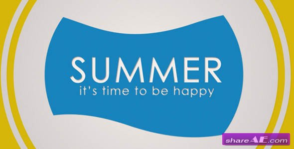 Summer 274476 - After Effects Project (Videohive)
