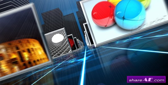 Pure 3D HD Displays V3 - After Effect Project  (VideoHive)