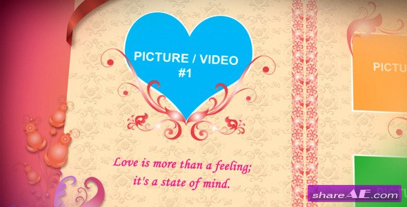 Love Photo Album - After Effects Project (Videohive)