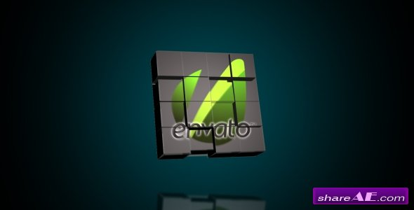 Logo Cubes Transformation -  After Effects Project (Videohive)