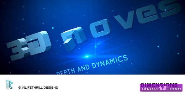 Dimensions -  After Effects Project (VideoHive)