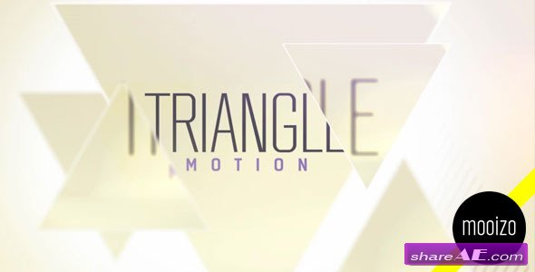 Triangle Motion - After Effects Project (Videohive)