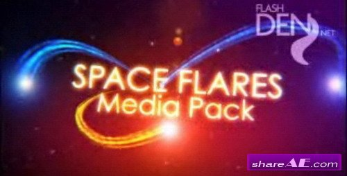 Space Flares Media Pack -  After Effects Project (VideoHive)