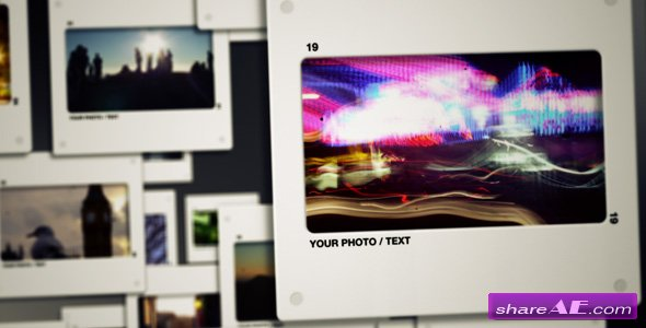 Slide Showcase - After Effects Project (VideoHive)