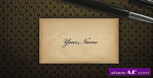 Romantic Book -  After Effects Project (VideoHive)