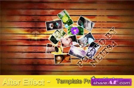 Photos On The Wall -  After Effects Project (VideoHive)