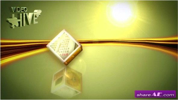 Rolling Cubes -  After Effects Project (VideoHive)