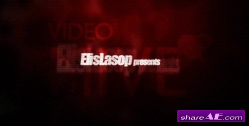 Horror Film titles - After Effects Project (VideoHive)