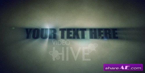 Amazing Opening Movie Title -  After Effects Project (VideoHive)