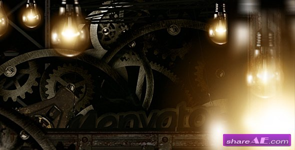 Gears Logo reveal - After Effects Project (VideoHive)