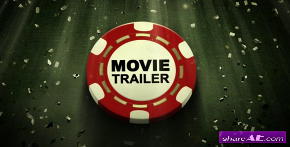POKER Movie Trailer - After Effects Project (VideoHive)