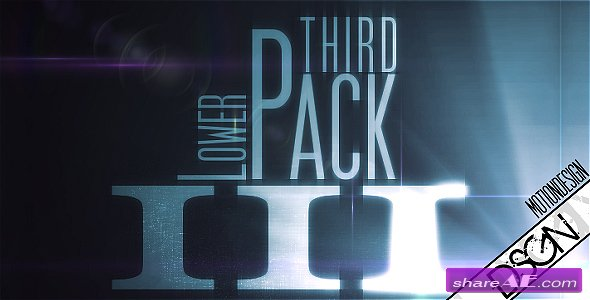 Lower Third Pack Vol.3 FullHD -  After Effects Project (VideoHive)