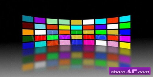 video wall -  After Effects Project (VideoHive)