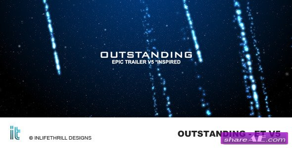 Outstanding - Epic trailer v5 -  After Effects Project (VideoHive)