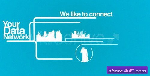 Digital Communication Ad - After Effects Project (VideoHive)