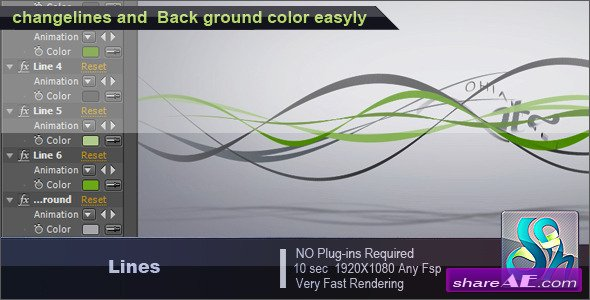 Lines - After Effects Project (Videohive)