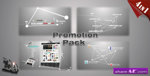 Website/Product/App Promotion Pack - After Effects Project (Videohive)