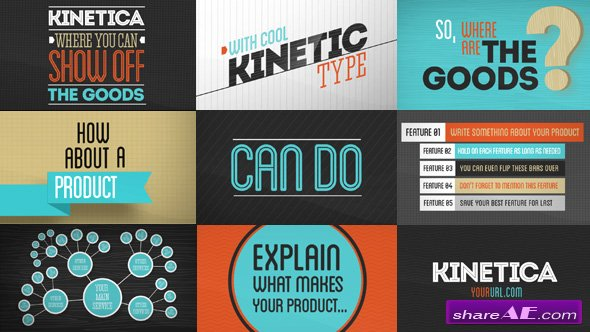 Kinetica 2 Videohive - Free Download After Effects Templates