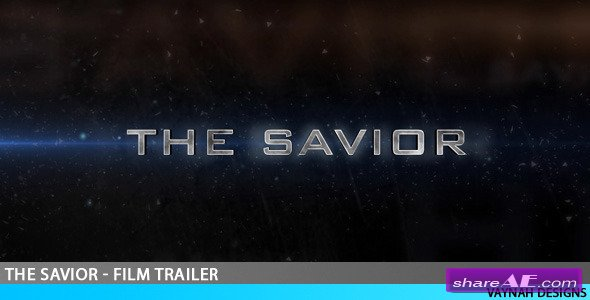 The Savior - Film trailer HD -  After Effects Project (VideoHive)