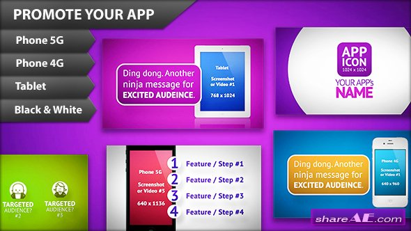 App Promo - Clean & Simplistic - After Effects Project (Videohive)