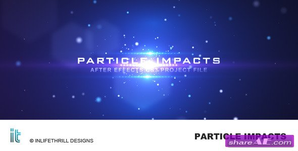 Particle Impacts After Effect Project Videohive Free After