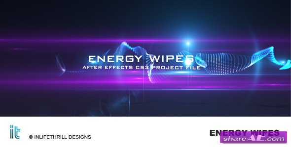 Energy Wipes -  After Effects Project (Videohive)