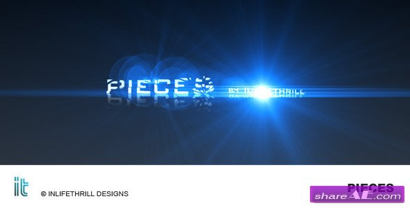 Pieces -  Project After Effects (VideoHive)