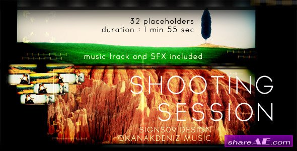 Shooting Session - After Effects Project (Videohive)