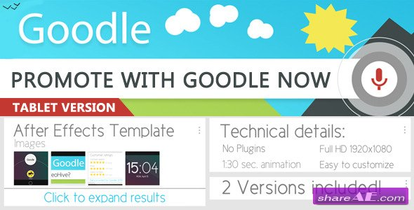 Goodle Now - After Effects Project (Videohive)