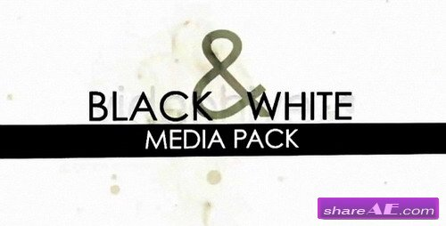 Black and White Media Pack - Project After Effects (VideoHive)