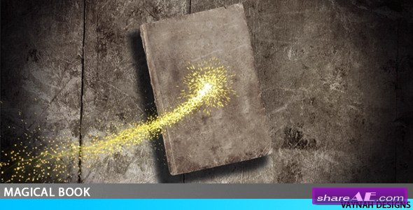 Magical book Intro HD - After Effects Project (Videohive)