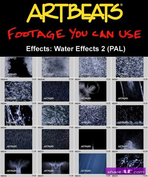 Artbeats - Effects: Water Effects 2 (PAL)
