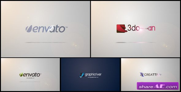 Quick & Clean Logo Sting - After Effects Project (Videohive)