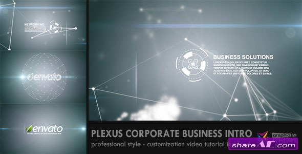 Plexus Corporate/Business Intro - After Effects Project (Videohive)