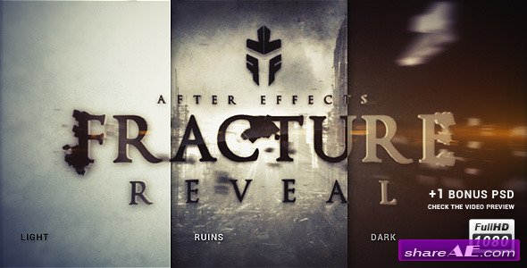 Fracture Reveal - After Effects Project (Videohive)