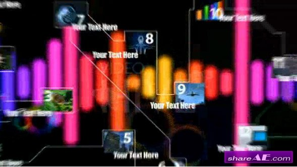 Videohive After Effect Project The Line
