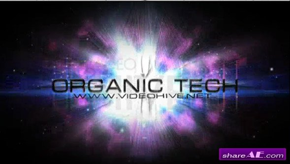 Organic Tech -  After Effects Project (VideoHive)