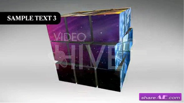 The Puzzle Cube - After Effects Project  (VideoHive)