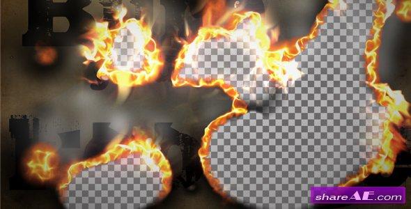 Burn Smoke Transition - Motion Graphics (Videohive)
