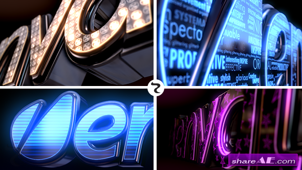 LED Logo - After Effects Project (Videohive)