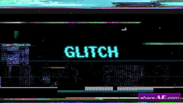 Glitch Motion Graphic - After Effects Proiect  (Videohive)