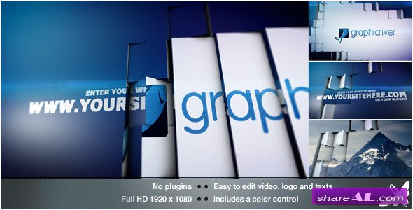 Tile Revolution Logo - After Effect Project (Videohive)