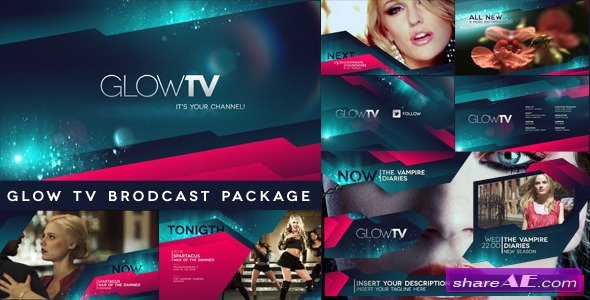Glow TV Broadcast Package - After Effect Project (Videohive)