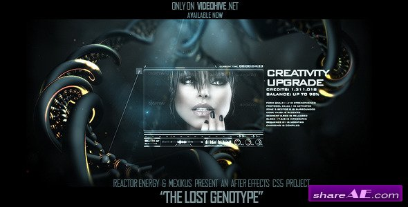 The Lost Genotype  -  After Effect Project (Videohive)