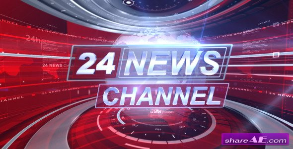 Broadcast Design - Complete News Package -  After Effects Project (VideoHive)