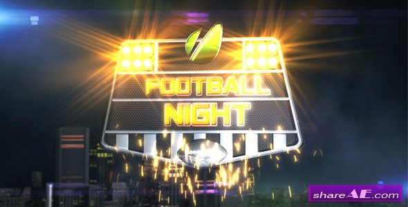 Football Night Opener -  After Effects Project (VideoHive)