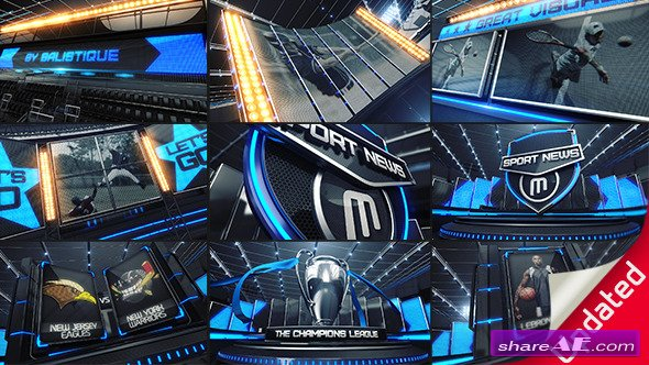 Broadcast Design Sport ID - After Effects Project (Videohive)