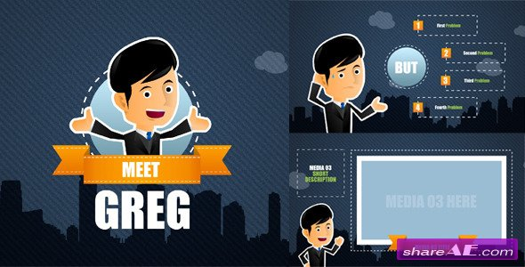 Corporate Promotion With Greg - After Effects Project (Videohive)