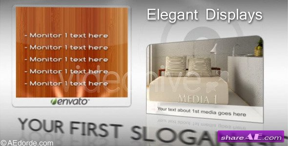Elegant displays -  After Effects Project (Videohive)