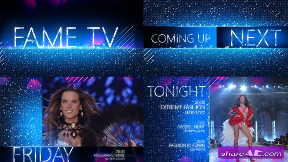 Glitz - Fashion TV Broadcast Design - After Effects Project (Videohive)